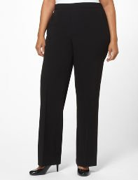 Black Refined Fit Pant
