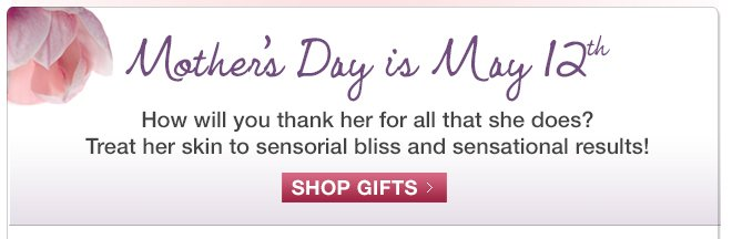 Mothers Day is May 12th