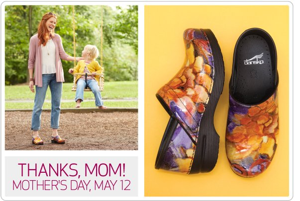 Thanks, Mom! Don't forget Mother's Day is May 12, 2013.
