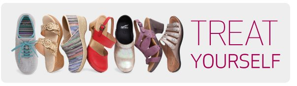 Treat yourself with a new Spring 13 Dansko style.