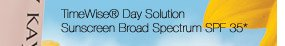TimeWise® Day SolutionSunscreen Broad Spectrum SPF 35*