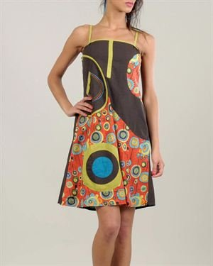 Ziva Multicolor Printed Dress