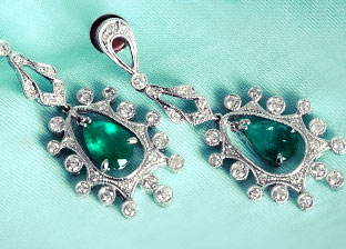 Colorize: Gemstone Earrings