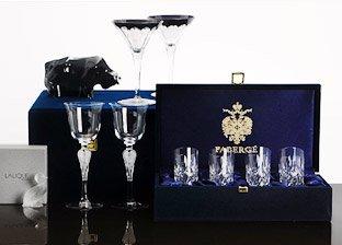 Designer Home Goods by Faberge, Baccarat, Swarovski & more