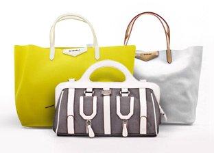 Givenchy, Emporio Armani, Bikkembergs, Coveri Handbags
