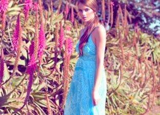Jessica Taylor, Second Skin & Aqua Blue Dresses