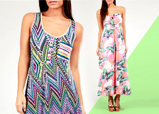 Go Bold: Colorful and Printed Apparel for Her by Mahal