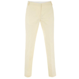 Pastel Yellow Chino Trousers