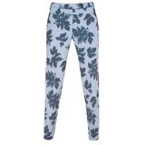 Kaleidoscope Leaves Print Trousers