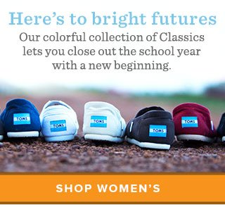 Here's to  bright futures. Shop Women's