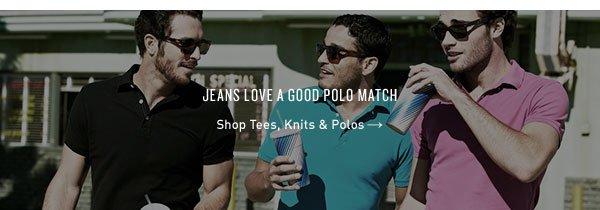 Shop Tees, Knits & Polos