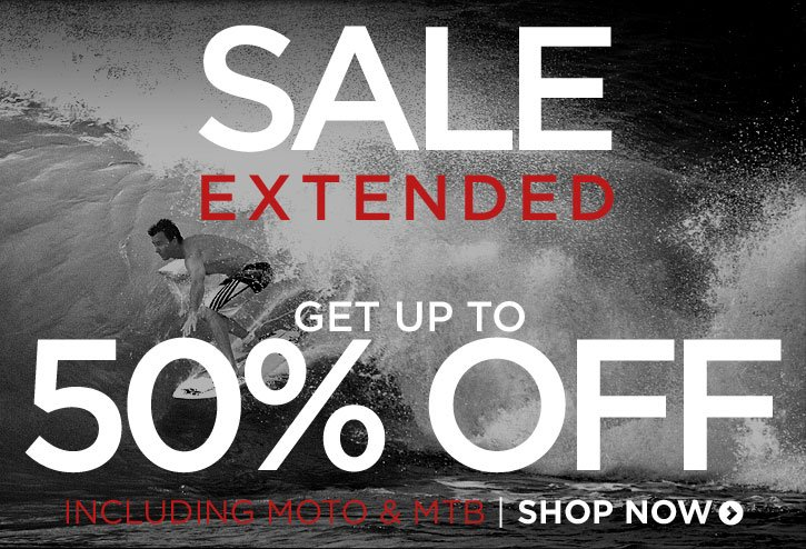 Sale Extended! - Save up to 50%