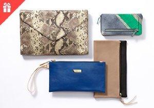 Wallets, Wristlets & Clutches