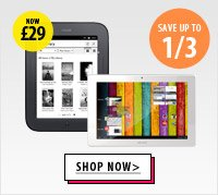 Save Up To 1/3 on Tablets and eReaders