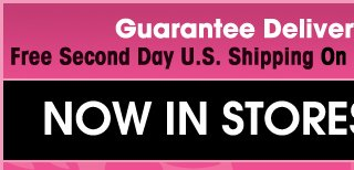 Guarantee Delivery For Mother's Day Free 2nd Day Shipping on orders of $65 or more! Shop and Save on our BOGO 50% OFF on Selected Items