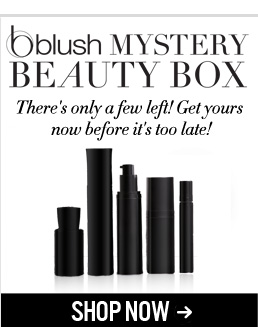 blush Mystery Beauty Box There's only a few left! Get yours now before it's too late! Shop Now>>
