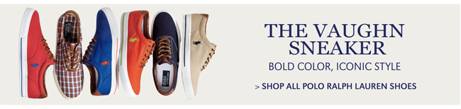 THE VAUGHN SNEAKERS | BOLD COLOR, ICONIC STYLE | SHOP ALL POLO RALPH LAUREN SHOES