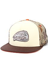 The Ride Starter Snapback in Camo