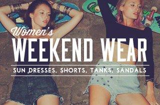 Women's Weekend Wear