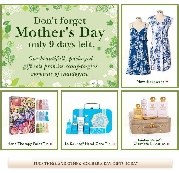 Shop Mother's Day Gifts.