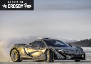 Shop A McLaren Just Murdered the Snow Track