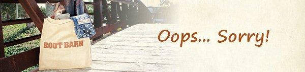 Oops.. Sorry!