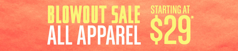 All Apparel on Sale