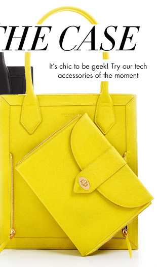 It's chic to be geek! Try our tech accessories of the moment