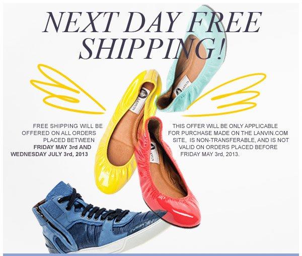 Lanvin Next Day Free Shipping!