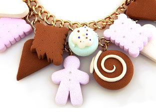 Chocokate. Delicious Jewelry