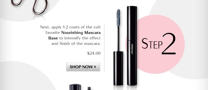 Step 2: Nourishing Mascara Base