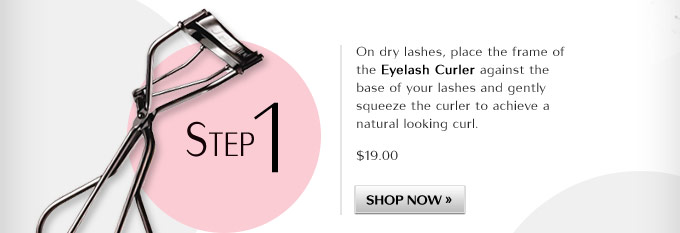 Step 1: Eyelash Curler