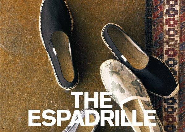THE ESPADRILLE