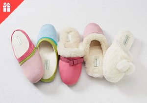 Treat Her Feet: Slippers for Mom