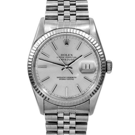 Rolex Datejust Stainless Steel + White Gold // c. 1970