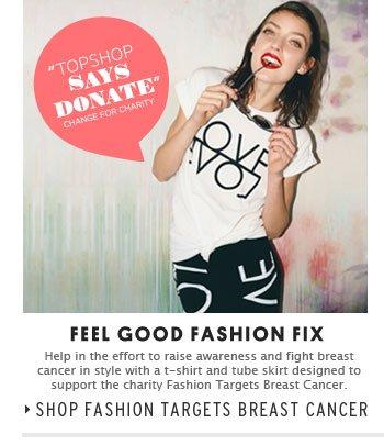 FASHION TARGETS BREAST CANCER - Shop Fashion Targets Breast Cancer