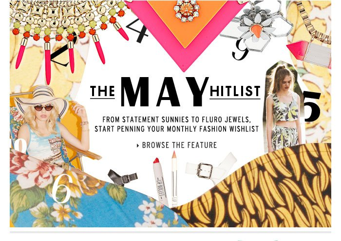 MAY HISTLIST - Browse the Hitlist