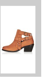 ADVANCE Cut Out Western Boots