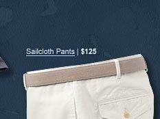 Sailcloth Pants | $125