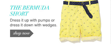 Dress it up with pumps or dress it down with wedges.