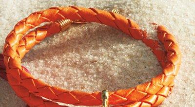 Braided Charm Bracelet in Lilli Bell