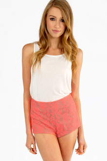High Hopes Lace Shorts $21
