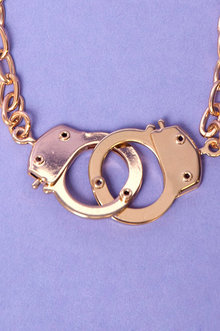 Hand Cuff Necklace $12