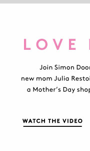 What's Julia Restoin Roitfeld coveting for her first Mother's Day as a new mom? Watch - and shop - the video!