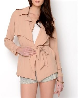 OVI Sheer Trench Coat