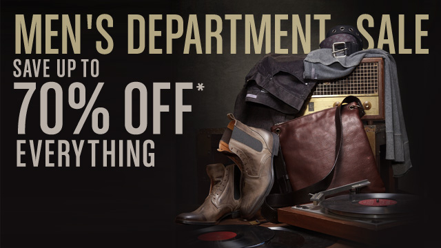 Men's Department Sale