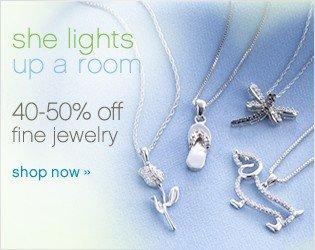 40-50% off fine jewelry. Shop now.