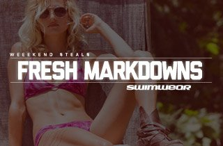Fresh Markdowns: Swimwear