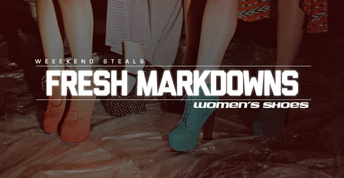 Fresh Markdowns: Women's Shoes