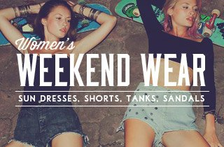 Women's Weekend Wear